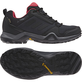 adidas TERREX AX3 GTX Scarpe Donna, carbon/core black/active pink